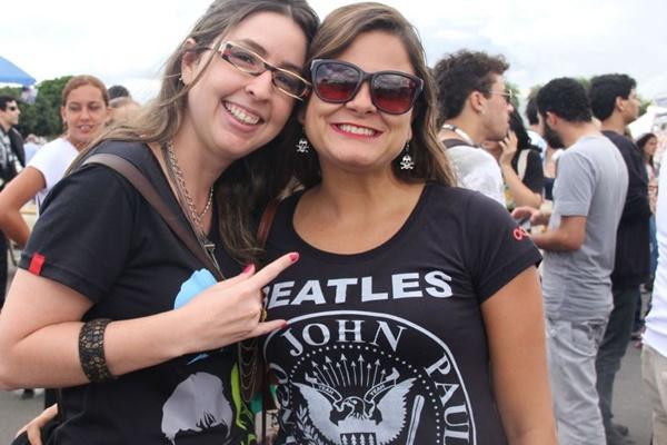 Eva Costa e Evie Gonçalves (Romulo Juracy/Esp. CB/D.A Press)