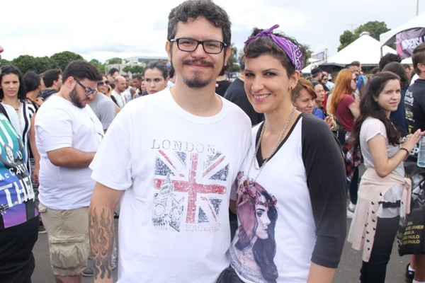Guilherme Montenegro e Dênia Montenegro (Romulo Juracy/Esp. CB/D.A Press)