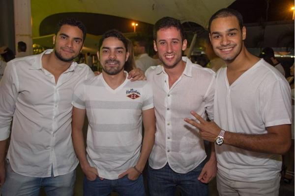 Lucas Lobo, Felipe Oliveira, Douglas Pinheiros e Felipe Machado (Romulo Juracy/Esp. CB/D.A Press)