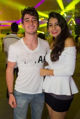 Eduardo Welker e Luiza Andrade (Romulo Juracy/Esp. CB/D.A Press)
