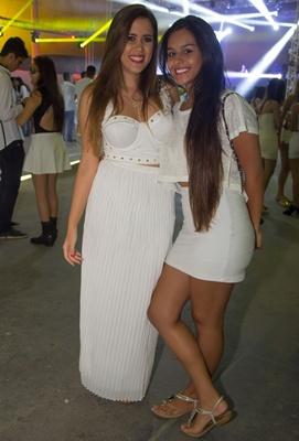 Mayara Kellen e Lorena Ramos (Romulo Juracy/Esp. CB/D.A Press)