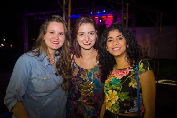 Nayla Gomes, Gabriela Dias e Mariana Guerra (Romulo Juracy/Esp.CB)