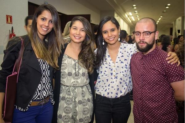 Angélica Vieira, Beatriz Carvalho, Fernanda Carvalho e Emanuel Nunes (Romulo Juracy/Esp. CB/D.A Press)