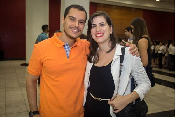 Arthur Fonseca e Flávia Melo (Romulo Juracy/Esp. CB/D.A Press)