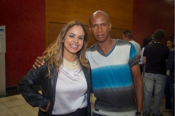 Liviane Rodrigues e Wagner Santana (Romulo Juracy/Esp. CB/D.A Press)