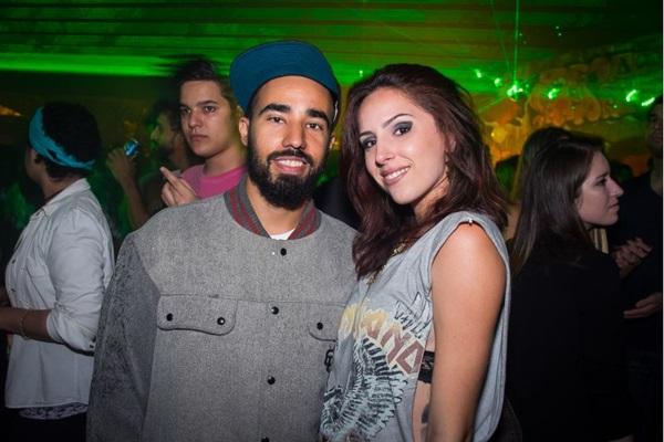 Luiz Paulo e Brenda Carreira (Romulo Juracy/Esp. CB/D.A Press )