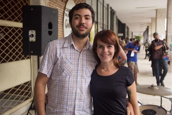 Diego Mendes e Gabriela Brito (Rômulo Juracy/Esp. CB/D.A Press )