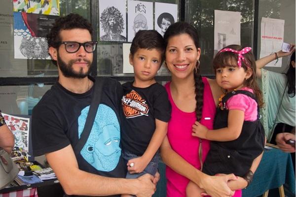 Fernando Teles, Davi Teles, Adriana Teles e Olívia Teles (Rômulo Juracy/Esp. CB/D.A Press )