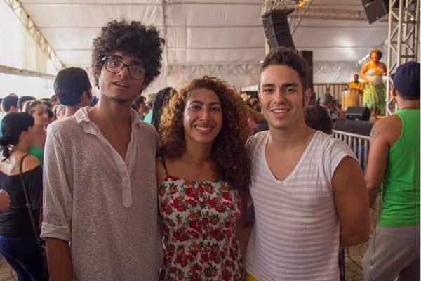 Guylherme Almeida, Clarice César e Gustavo Freitas (Romulo Juracy/Esp. CB/D.A Press)