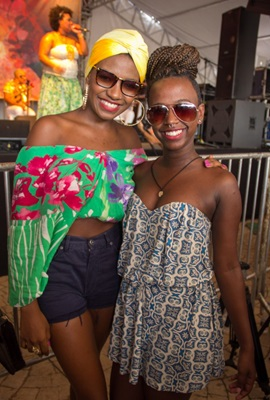 Aisha Mibikila e Jaluzza Monteiro (Romulo Juracy/Esp. CB/D.A Press)