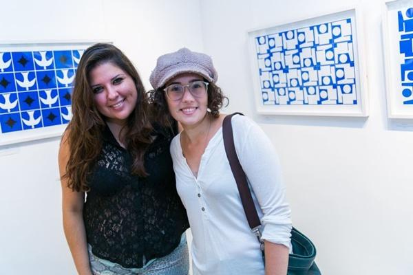 Camila Borges e Clarissa Silva (Gilberto Evangelista/CB/D.A Press)