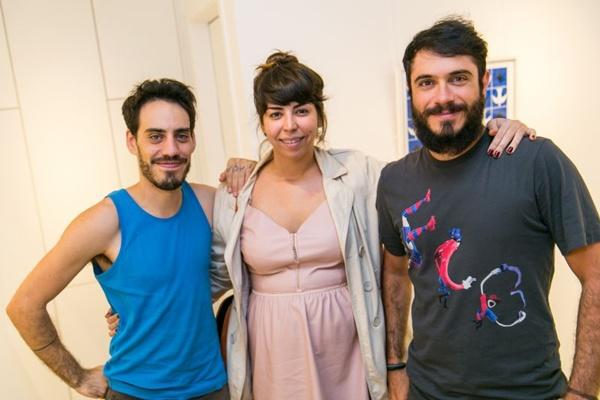 Daniel Galvão, Ana Machado e Léo Rizzo (Gilberto Evangelista/CB/D.A Press)