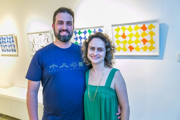 Raffael Inneco e Thatiana Dunice (Gilberto Evangelista/CB/D.A Press)
