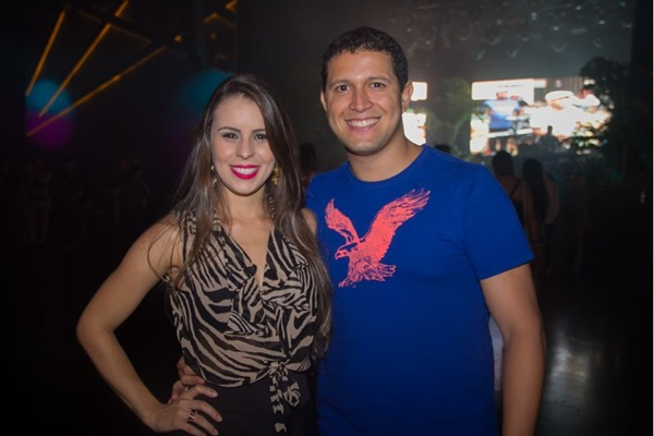 Nathália Dias e Marcelo Leal (Rômulo Juracy/Esp. CB/D.A Press)