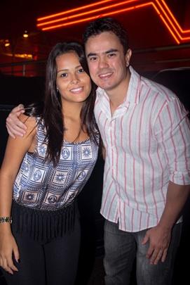 Milene Maqueide e Leonardo Silveira (Rômulo Juracy/Esp. CB/D.A Press)