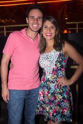 Philipe Alencar e Adriana Garcia (Rômulo Juracy/Esp. CB/D.A Press)