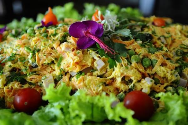 O salpicão é prático e pode ser com ou sem maionese (Gilberto Alves/CB/D.A Press)