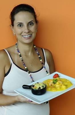 Nutricionista apresenta uma versão mais saudável para bobó de camarão  (Gilberto Alves/CB/D.A Press)