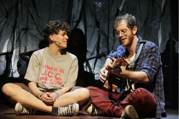Os personagens de Cássia Eller e de Nando Reis: parceria revisitada (Anna/Divulgação)