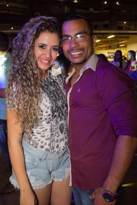 Ariane Brogio e Jonathan Araújo (Romulo Juracy/Esp. CB/D.A Press)