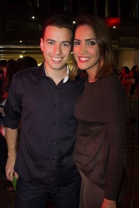 Matheus Barros e Karoline Vitorino (Romulo Juracy/Esp. CB/D.A Press)