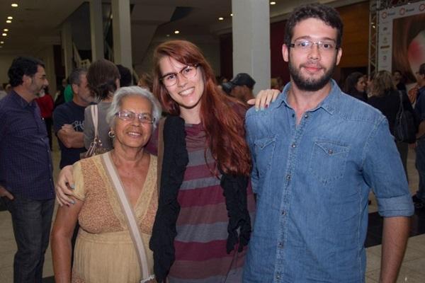 Laurentina Romeiro, Julia Borges e Ricardo Spíndola (Romulo Juracy/Esp. CB/D.A Press)
