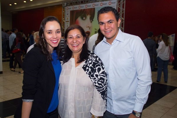 Jaqueline Simon, Maria de Jesus Simon e Lucas Guimarães (Romulo Juracy/Esp. CB/D.A Press)