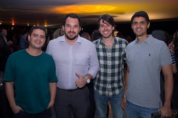 Leonardo Oliveira, Bruno Sig, Guilherme Seixas e Hugo Ferraz (Romulo Juracy/Esp. CB/D.A Press)