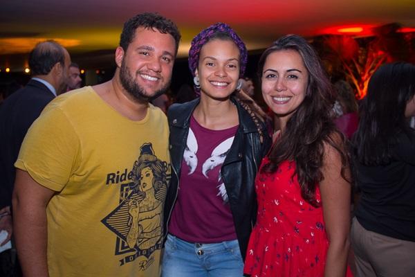 Thiago Oliveira, Fabiana Lemos e Hoana Gonçalves (Romulo Juracy/Esp. CB/D.A Press)