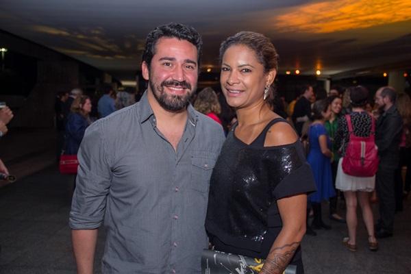 Fábio Almeida, Naillee Galeão (Romulo Juracy/Esp. CB/D.A Press)