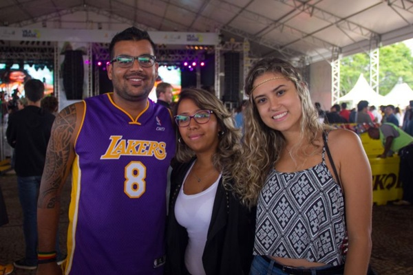 Alexandre Mundim, Joyce Nunes e Isabela Bonfim (Romulo Juracy/Esp. CB/D.A Press)