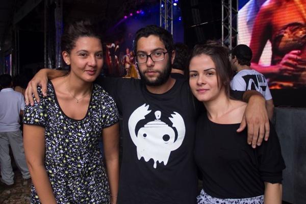 Priscila da Silva, Valdir Barbosa e Yasmin Palomino (Romulo Juracy/Esp. CB/D.A Press)