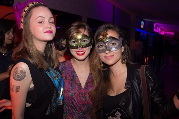 Mariana Nader, Sofia Machado e Luiza Mesquita (Romulo Juracy/Esp. CB/D.A Press)