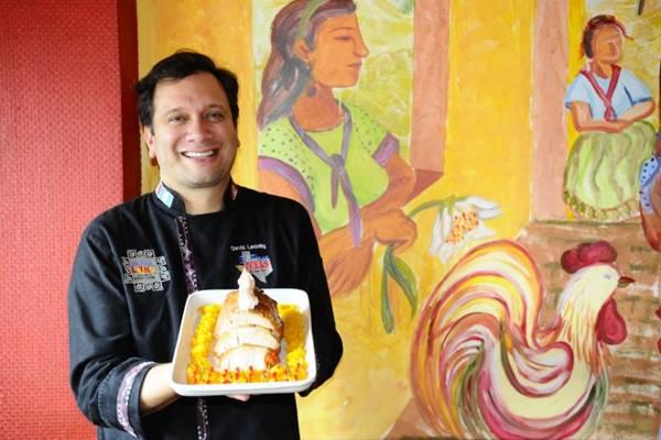 O chancho glaseado resgata os sabores peruanos da infância de David Lechtig  (Gilberto Alves/CB/D.A Press)