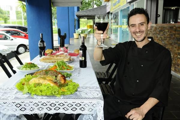 Antonios Iliopoulos: a cozinha grega se diferencia da nossa desde o tempero  (Gilberto Alves/CB/D.A Press)