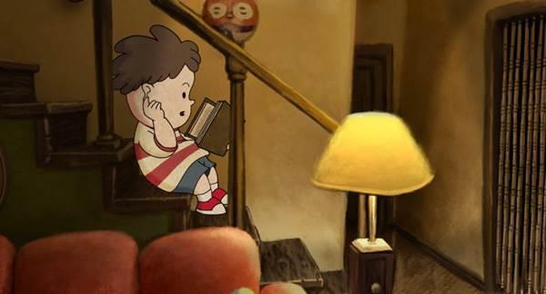 Fernando resgata a relação com o pai por meio da leitura (Imagem Filmes/Divulgação)