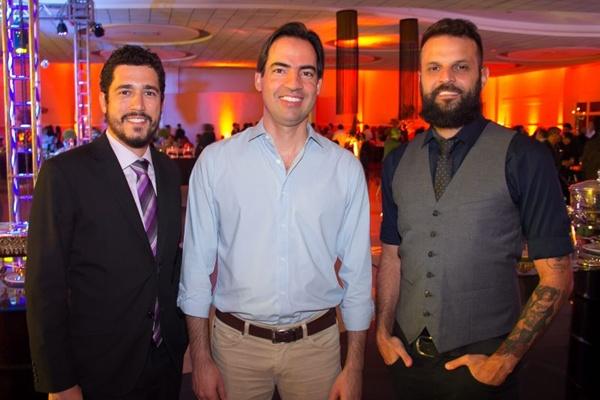 Luiz Leite, Alexandre Marques e David Murad (Rômulo Juracy/Esp CB/DA Press)