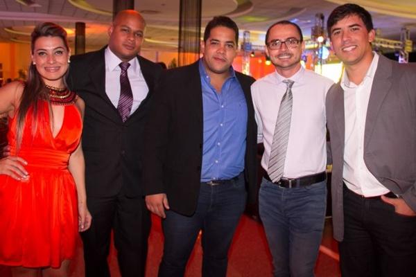 Carolina Andrade, Philipe Silvestre, Rafael Vasconcelos, George Marques e Pablo Arrelaro (Rômulo Juracy/Esp CB/DA Press)