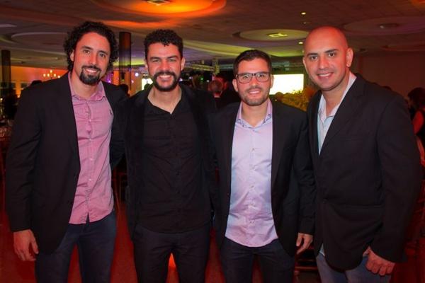 João Hamilton, Vitor Soares, Jonatas Junior e Romero Leite (Rômulo Juracy/Esp CB/DA Press)