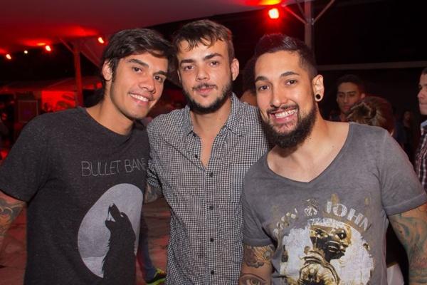 Arnoldo Furtado, Rafael Santiago e Pedro Cardoso (Romulo Juracy/Esp. CB/D.A Press)