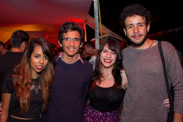 Isadora de Carvalho, Carlos Yan, Amanda Tófoli e Gabriel Bento (Romulo Juracy/Esp. CB/D.A Press)