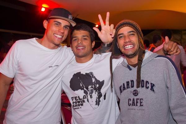 Lucas Moreira, Rafael Ferreira e Daniel Sobreira (Romulo Juracy/Esp. CB/D.A Press)