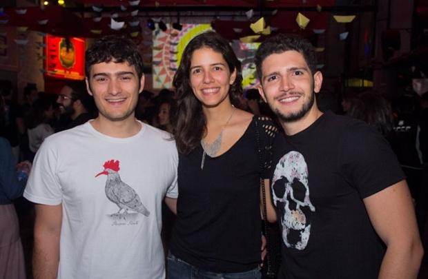 João Leite, Raquel Leite e Marcelo Quintão  (Rômulo Juracy/Esp. CB/D.A Press)