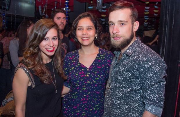 Ana Carla Marques, Pâmela Costa e Felipe Dias (Rômulo Juracy/Esp. CB/D.A Press)