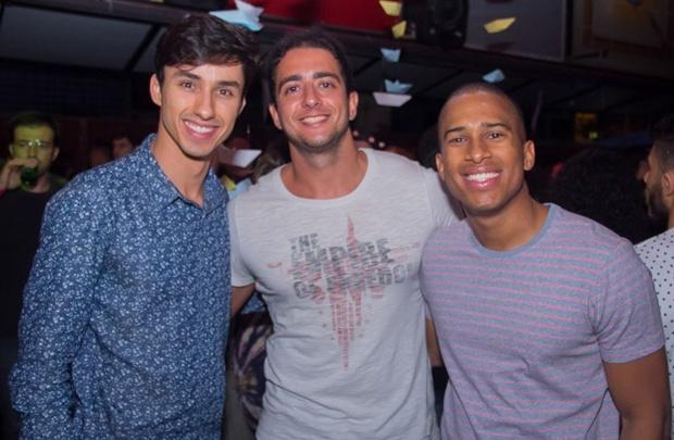 Leonardo Vieira, André Mandelli e Felipe Carvalho (Rômulo Juracy/Esp. CB/D.A Press)