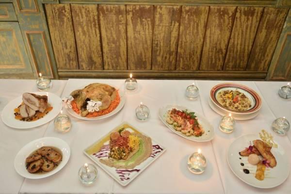 Chefs preparam pratos para a ceia de Natal (Daniel Ferreira/CB/D.A Press)