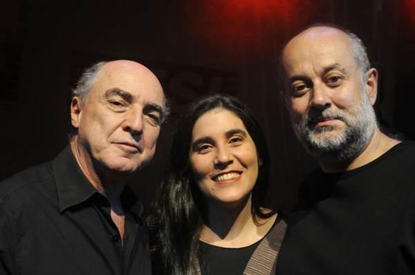 Márcio Juliano, Mônica Salmaso e Sergio Albach: o fino do samba (Catherine Krulic/Divulgação)