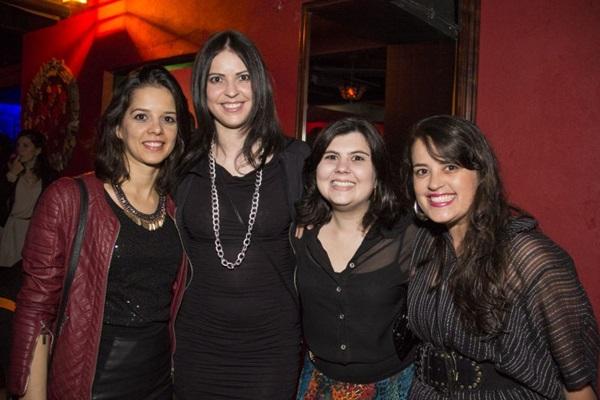 Nara Oliveira, Leilane Alves, Jakeline Lima e Ariane Borgonha  ( Amanda Goes/Divulgação)