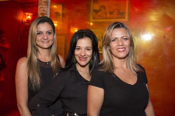 Cristiane Furtado, Lucila Costa e Shirlei Aquino ( Amanda Goes/Divulgação)