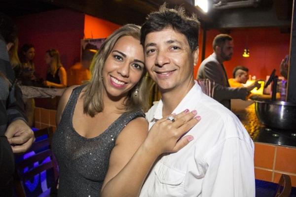 Greice Berberian e Gustavo Moraes ( Amanda Goes/Divulgação)